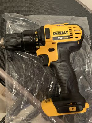 "DeWalt 20vMax 1/2"" drill never used, brand new. I have receipt. I bought a bundle pack and already have this drill. I don't need 2. for Sale in Gilroy, CA"