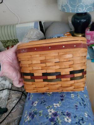 Longaberger recipe basket for Sale in Sacramento, CA