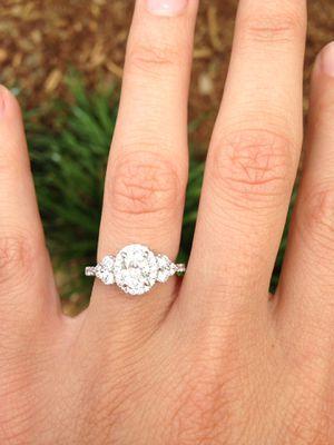 Diamond Wedding Set for Sale in Clifton, VA