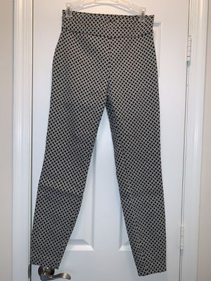 Dress pants with black, white and gold details. for Sale in Alexandria, VA