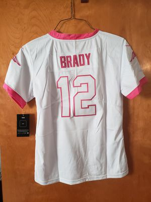 Patriots 100 th breast cancer jersey for Sale in Providence, RI