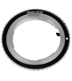 Fotodiox Lens Mount Adapter - Nikon Nikkor F Mount D/SLR Lens to Canon EOS (EF, EF-S) Mount SLR Camera Body for Sale in Los Angeles, CA