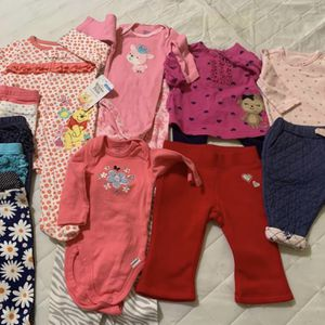 0-3 & 3 Month Girls Cloying Lot (2 Pics for Sale in Oklahoma City, OK