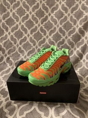 Nike x Supreme Air Max Tn Supreme Green Size 6 Mens for Sale in West Covina, CA