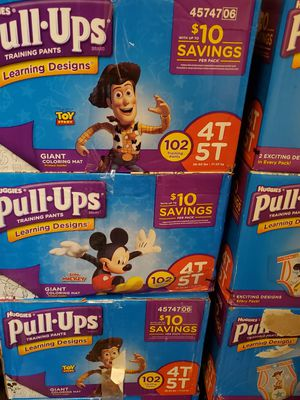 Pull ups huggies and some comfees that fit 3t-2t for Sale in Essington, PA