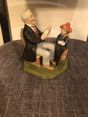 """Norman Rockwell """" The Doctor and the Doll"""" for Sale in Wesley Chapel, FL"""