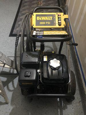 Dewalt pressure washer 3,800 psi for Sale in Perris, CA