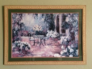 Allayn Stevens Framed with Glass Painting for Sale in Visalia, CA