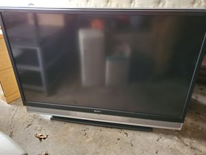 Sony 60 inch TV WEGA tv wide back for Sale in Parma, OH