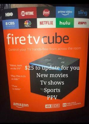 Amazon Fire Tv CUBE for Sale in San Antonio, TX