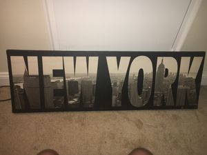 New York Black and White Portrait for Sale in Washington, DC