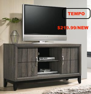 Akerson TV Stand, Grey for Sale in Santa Ana, CA