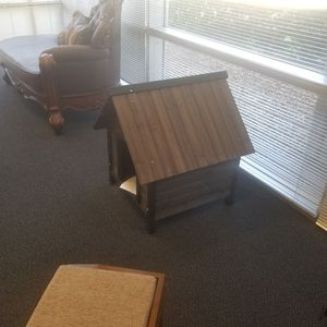 BRAND NEW SOLID WOOD DOG HOUSE for Sale in Dallas, TX
