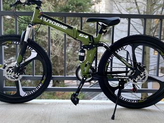 Mountain Bike TSM G4 Bicycle 21 Speed 26 Inches Wheels Dual Suspension Folding Bike for Sale in Rockville,  MD