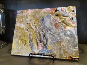 Abstrat art, acrylic pour art for Sale in Lubbock, TX