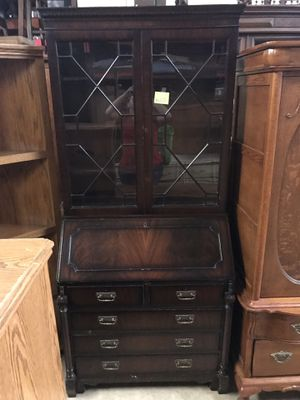 Antique secretary desk for Sale in Pasadena, TX