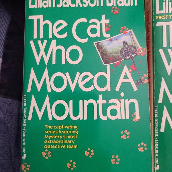 The Cat Who Moved A Mountain, Lillian Jackson Braun, Paperback
