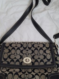 Genuine Coach Bag Purse Navy Blue for Sale in Newton,  NH