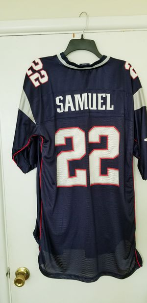 XL Asante Samuel Patriots Jersey in Very Good Condition! for Sale in Braintree, MA