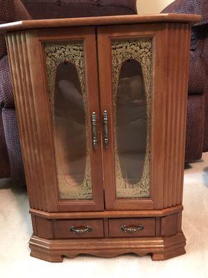 Wooden jewelry box for Sale in Bellevue, NE
