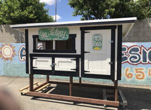 Chicken coop 8x4 x 6 ft hight with delivery for Sale in Arroyo Grande, CA