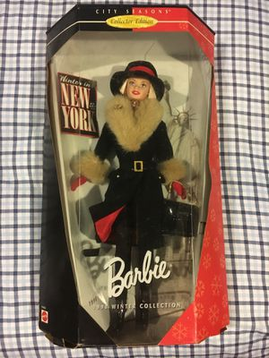 New-1998 Winter Collection Barbie for Sale in Woodbridge Township, NJ