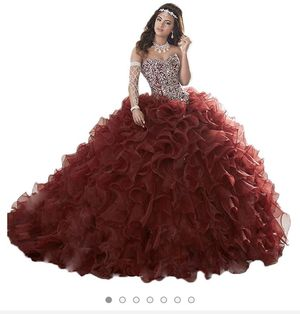 Gorgeous Heavy Beaded Organza Quinceanera Dresses for Sweet 16 Ball Gowns for Sale in Hialeah, FL