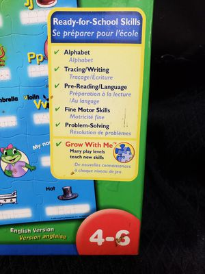 Leapfrog write on floor puzzle for Sale in Zanesville, OH