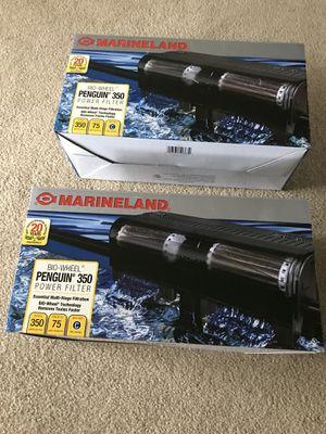 Marineland biowheel 350 aquarium fish tank filter for Sale in Tacoma, WA