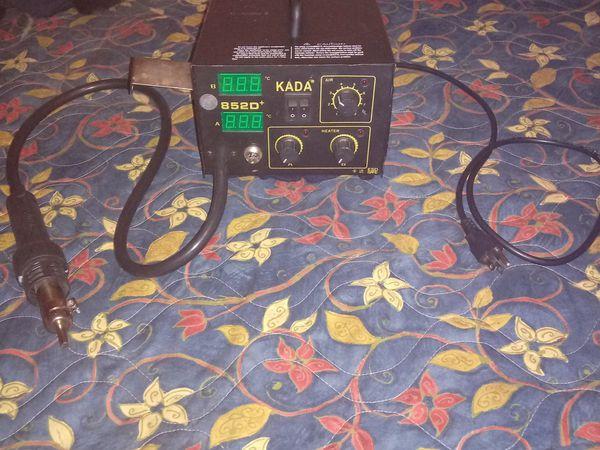 220v/110v SMT SMD 2 in 1 Soldering Station with Digital of KADA 852D+