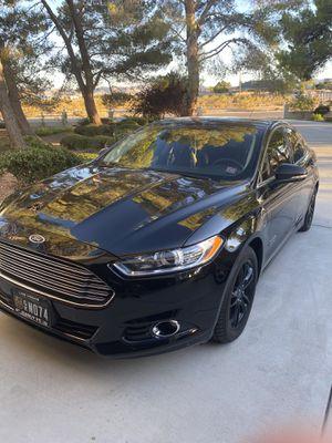 2016 Ford Fusion hybrid Titanium for Sale in Las Vegas, NV