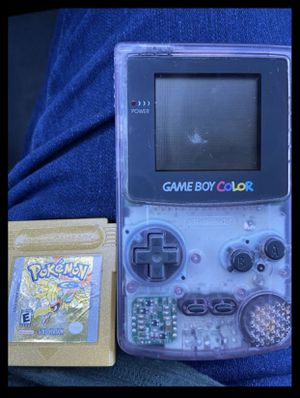 Gameboy Color with Pokémon Game for Sale in League City, TX
