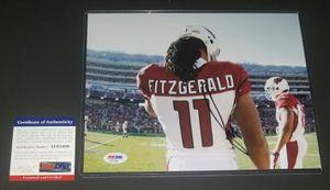 🔥 Larry Fitzgerald autographed 8x10 PSA/DNA COA 🔥 for Sale in El Mirage, AZ