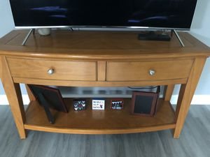 Solid Wood TV Console for Sale in Ocala, FL