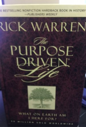 The Purpose Driven Life Hardback by Rick Warren for Sale in Parma Heights, OH