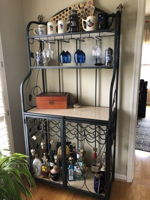 Bakers rack/ wine rack for Sale in Fairfax Station, VA