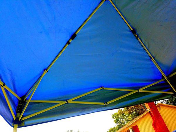 E-Z UP ENV9104BL Envoy pop up Canopy Tent, 8x8