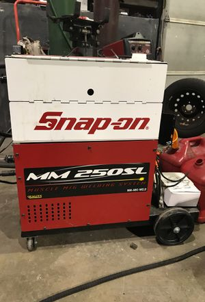 Two years old Snap On welder never used M M 250 SL for Sale in Abington, MA
