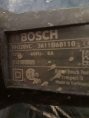 Bosch bulldog plus hammer drill for Sale in Pueblo, CO