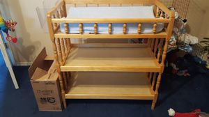 Real Wood Changing Table for Sale in Arlington, TX