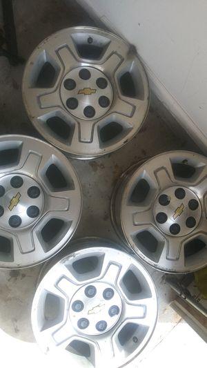 Chevy Silverado 1500 wheels/$600 or Best offer for Sale in McDonough, GA