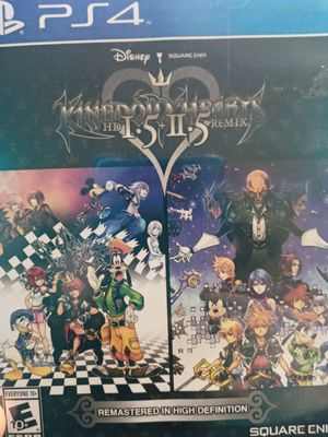 Kingdom Hearts 1.5 and 2.5 & 2.8 pick up only ps4 for Sale in Markham, IL