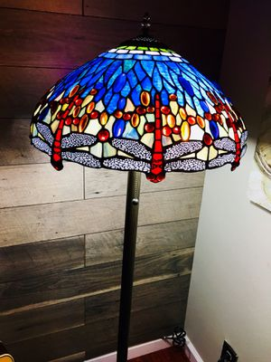 Tiffany style dragonfly floor lamp for Sale in Alameda, CA