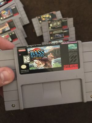 Bass masters - Super Nintendo (snes) for Sale in Los Angeles, CA