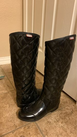 Hunter Quilted Rain Boots for Sale in El Paso, TX