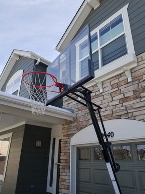 Russell Portable Basketball Hoop for Sale in Denver, CO