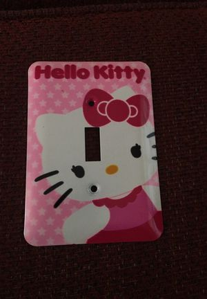 Hello Kitty light switch plate for Sale in Oshkosh, WI