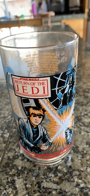 Star Wars return of the Jedi collectible glass for Sale in Antioch, CA