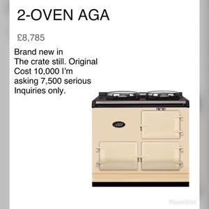 2 oven Aga Cooker for Sale in Allen, OK