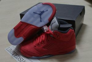 Jordan Retro Suede Red 5s for Sale in Houston, TX